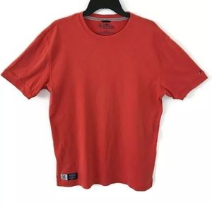 Tommy Hilfiger Mens T-Shirt Red American Tradition